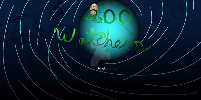 200 Watcher Banner by ArtsyOwlFree3