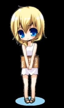Chibi-Namine by tickledpinky