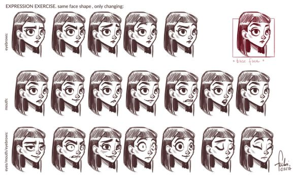 Expressions exercise by Fukari