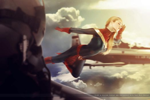 Captain Marvel III - Marvel Comics by FioreSofen