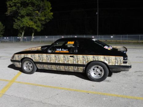 Camo Stang by 01JessicaMcIntyre