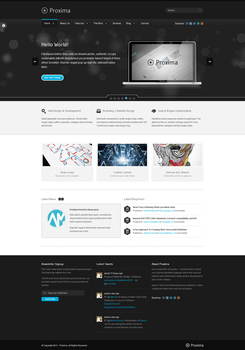 Proxima - Portfolio and Business Template by xkaarux