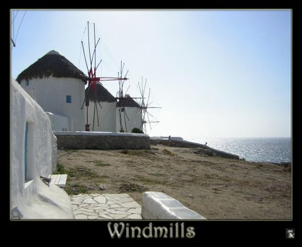 Windmills by Louis-Ruthven