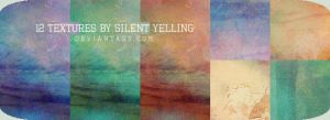 12 Textures by Silent-yelling