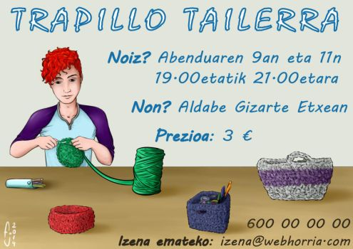 Taller de Trapillo by TakeshiKun