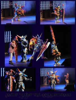 Nightmare Cosplayer Collage - Wai-Con 2013-Circuit by electricTurbine