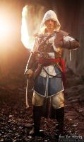 Cave of Echoes- Edward Kenway Cosplay - Leon Chiro by LeonChiroCosplayArt