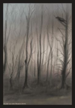 Forest - sketch by Shiaine