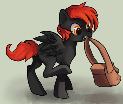 Commission - Packrat by dashleigh