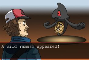 A WILD YAMASK APPEARED