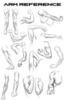 Lots Of Arms for Reference. by NemoNova