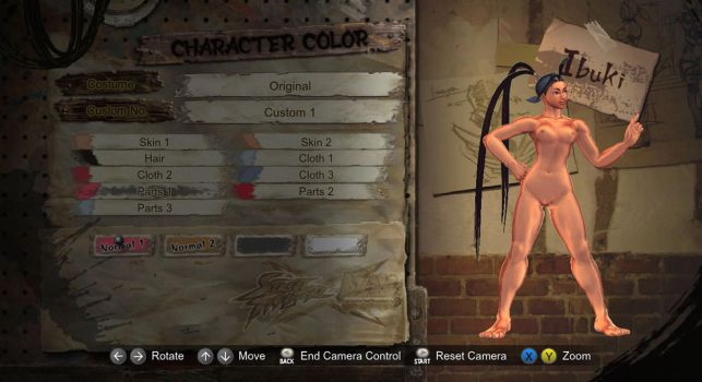 Street Fighter X Tekken Nude