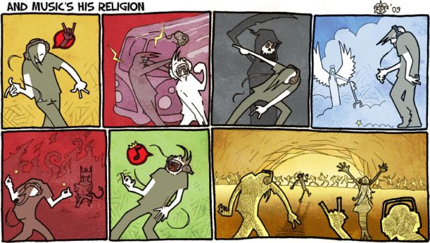 And music's his religion by Eldahast