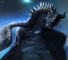 Paarthurnax by TheRisingSoul