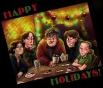 HAPPY THEORETICAL by MiloNeuman