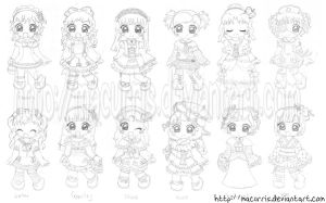 Lolita Style Collection -sketc by macurris