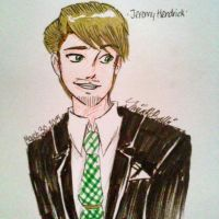 Jeremy in a Suit by pencilwarrior01