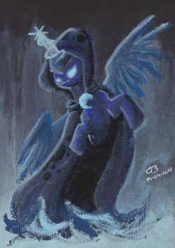 Luna's Ghost of the Future by CodePepper