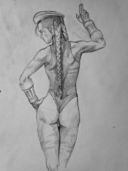 Cammy sketchy by Agent-Chris