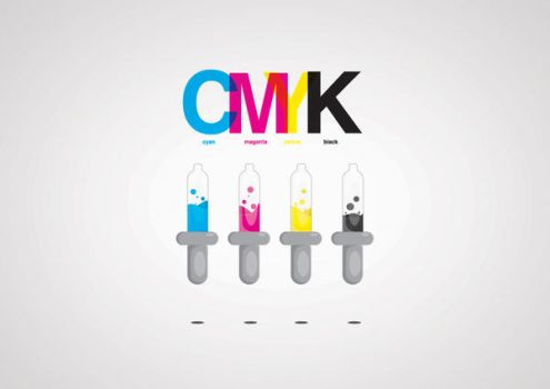 CMYK eye dropper by artddicted