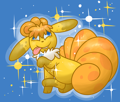 GOLD ALL SPARKLY by pupom