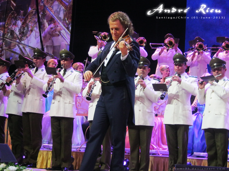 Andre Rieu and the waltz goes on tour {Chile} by kasumi33
