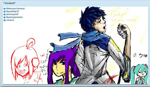 iscribble with awesome people by themorningelegance