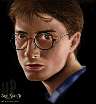 Daniel Radcliffe by ready-set-draw
