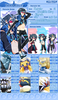 BFOI :: BLINDING YOU WITH BLUE by miunuu