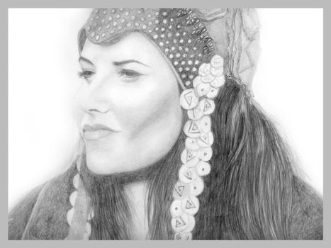 Lucy Lawless - The 'Evil' Xena by chakkers