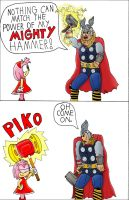 Amy and Thor by CalebHarms1996