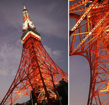Tokyo Tower by Kira-R