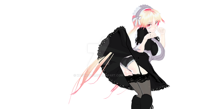 Kate the maid Wallpaper 2732x1514 by Kasuko001