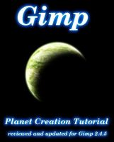 Creating Planets in Gimp by humanofprey