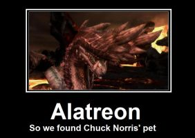 Alatreon demotivational by deathsoul-darkwolf