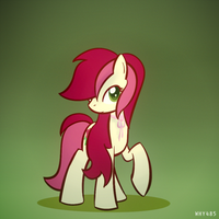Rose Pose by Why485