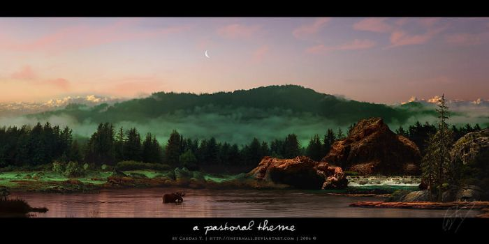 A Pastoral Theme by cagdasyoldas