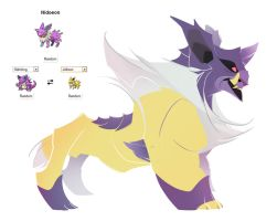 Pokemon fusion - Nidoeon