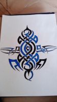 New tribal drawing by gbftattoos