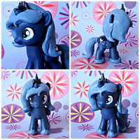 Filly Luna G4 Custom by Claytacular