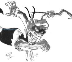 Sly Cooper by TaoFox