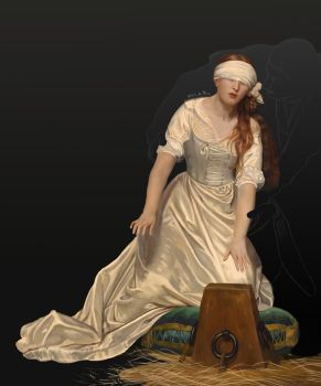 [SW] The Execution of Lady Jane Grey by Quetzalcactus