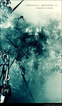 Abstract Brushes 13 by Ghost-001-
