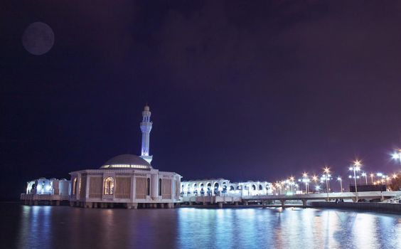 Floating Mosque by anythingbx