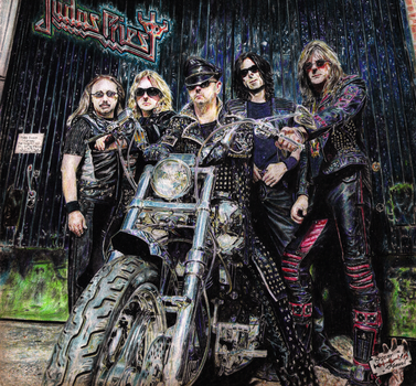 Judas Priest (Colored pencil drawing) by Oscar-Manuel