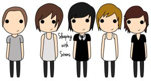 Sleeping with sirens by Dianassaur