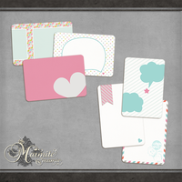 My Happy Place Journal Cards by DaydreamersDesigns