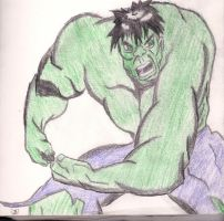 The Incredible Hulk by DradonX90