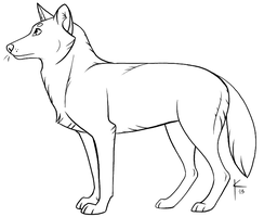 Wolf Template by Kaylink