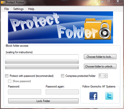Protect Folder v2.0 by gromichoafsystems